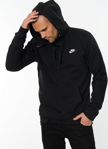 Nike Kapüşonlu Sweatshirt Siyah